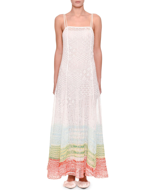 Missoni Dresses DOUBLE CAMI NEW LACE STITCH DRESS