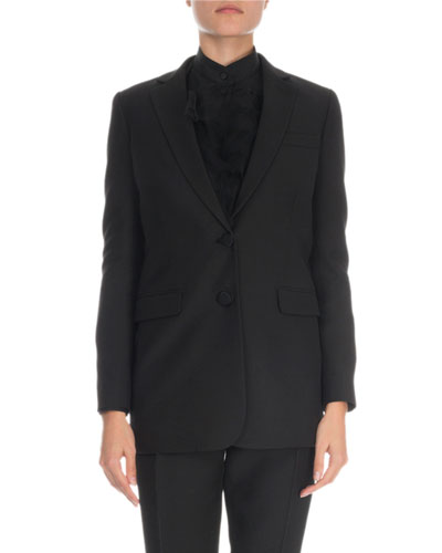 Crepe Couture Jacket