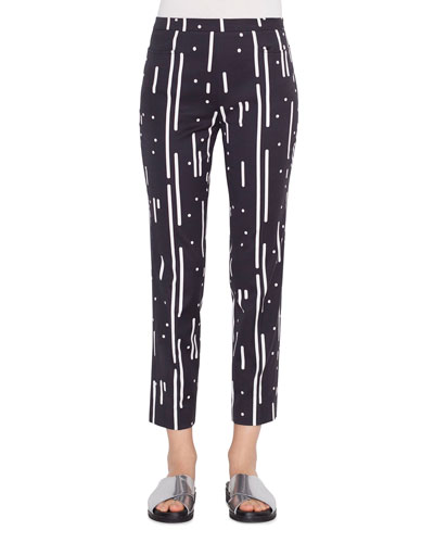 Franca Memphis Cotton-Stretch Pants