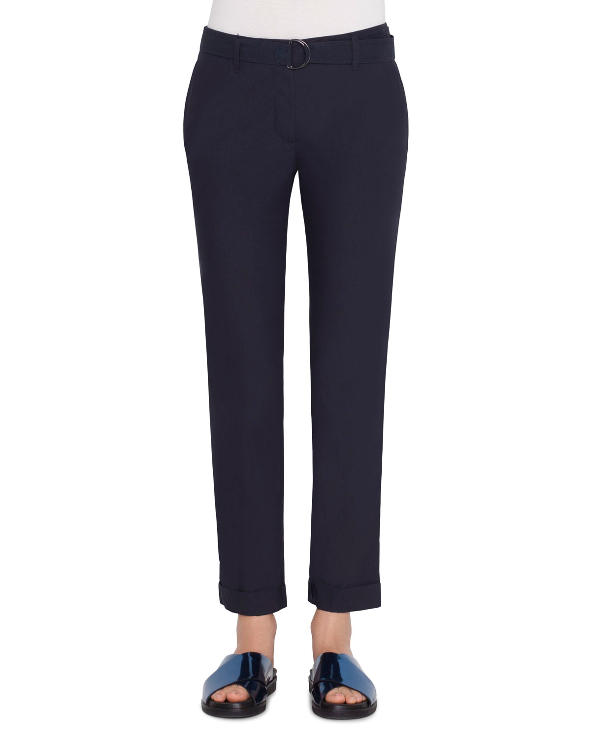 Fallon Chino Style Pants in Navy