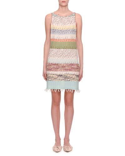 92773c73d54d Sleeveless Striped Knit Dress Quick Look. Missoni