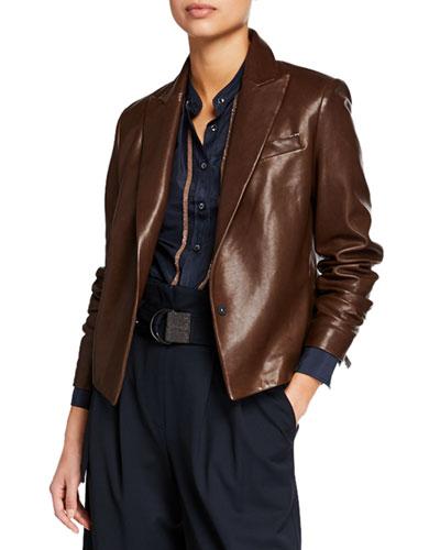048165e87 Leather Jacket Outerwear | bergdorfgoodman.com