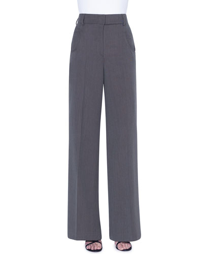 Floyd Wool Wide-Leg Pants
