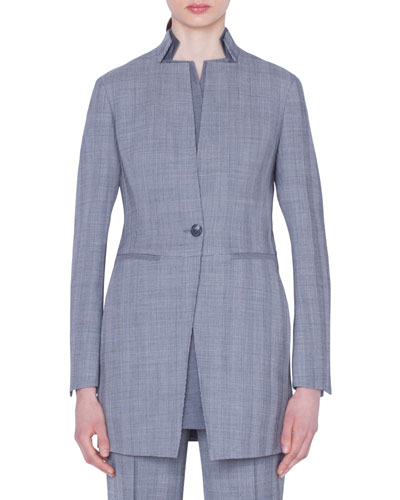 Dalma Check Wool Jacket