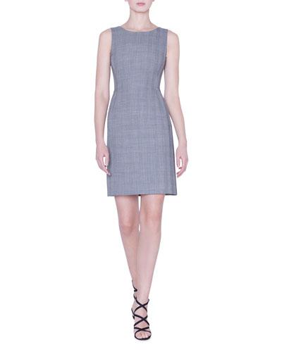Glen-Check A-Line Dress