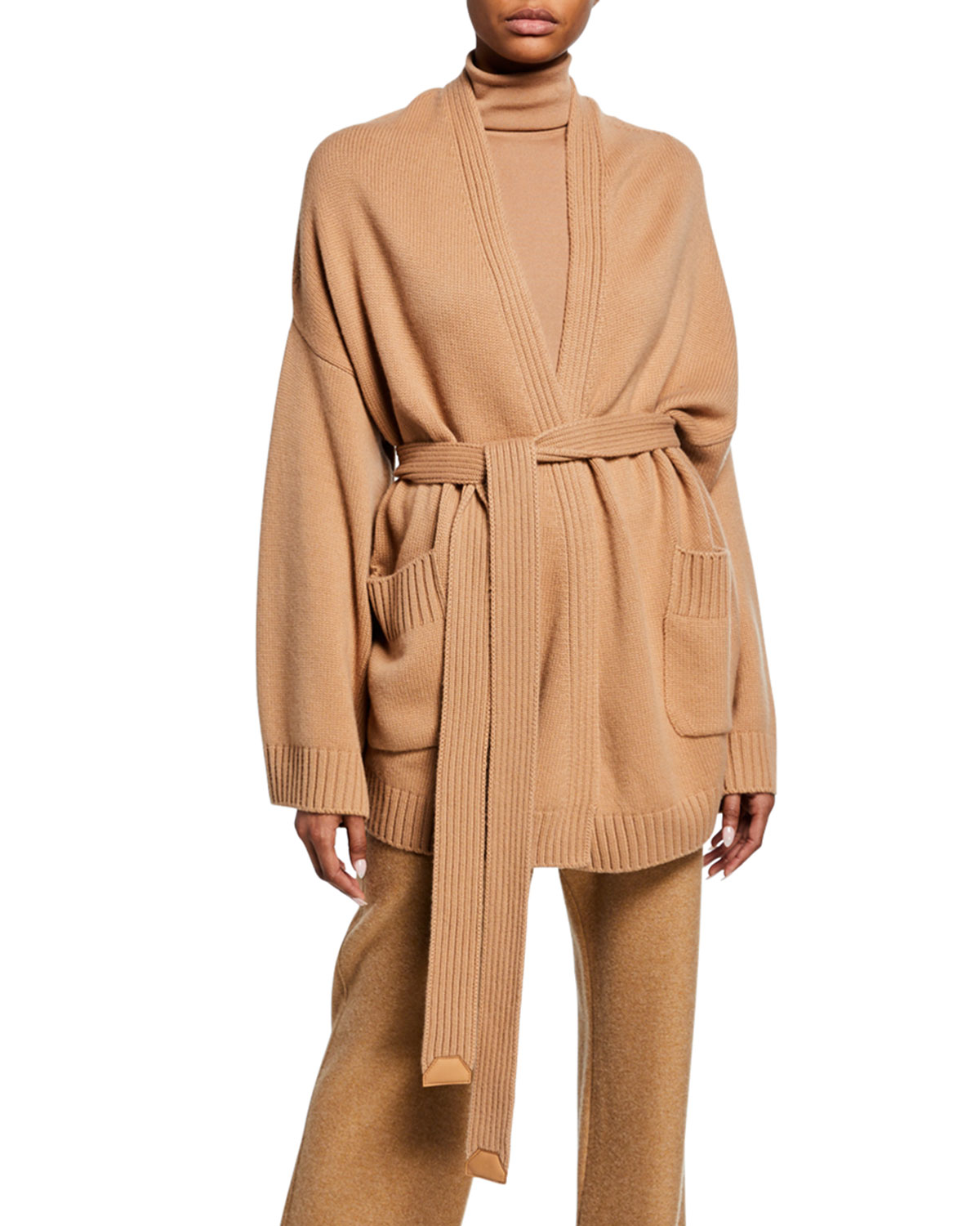 Loro Piana Tops CASHMERE OVERSIZED CARDIGAN