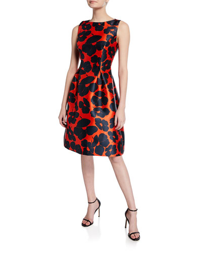 Betsy Full-Skirt Sheath Dress