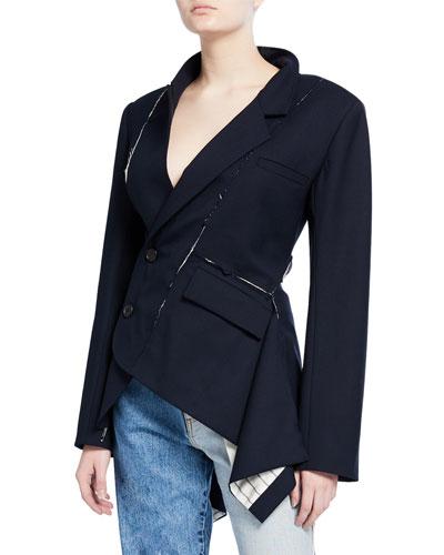 Deconstructed Slashed Asymmetric Jacket