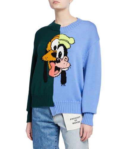 Pluto & Goofy Sweater