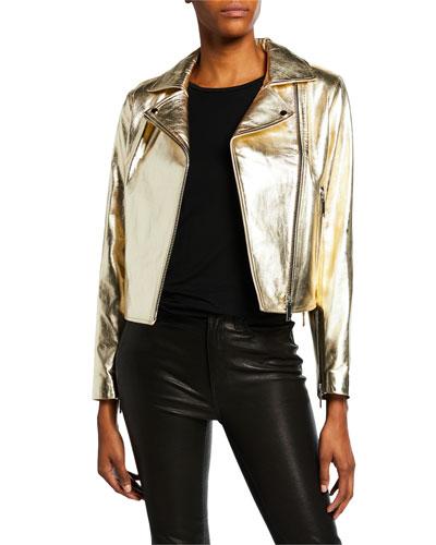 Daphne Classic Moto Jacket