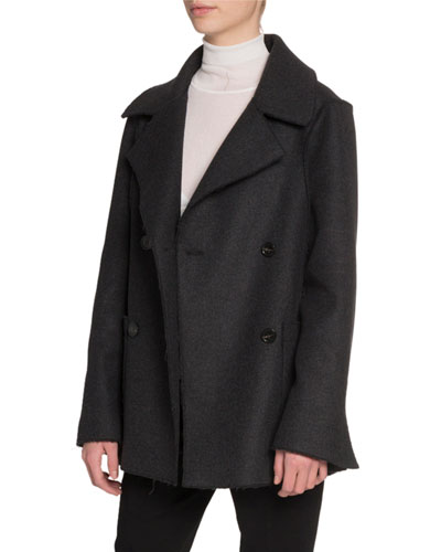 Wool Notched-Collar Jacket