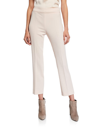 Guglia Cropped Cady Pants, Pink
