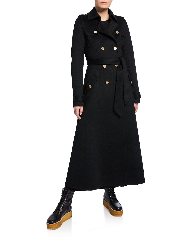 Gabriela Hearst Coats CASATT COIN-BUTTON TRENCH COAT