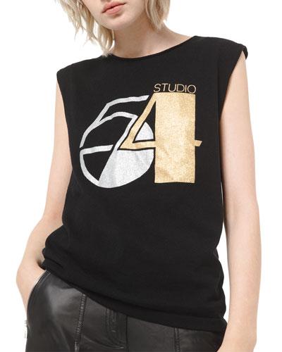 Cashmere Glitter Print T-Shirt