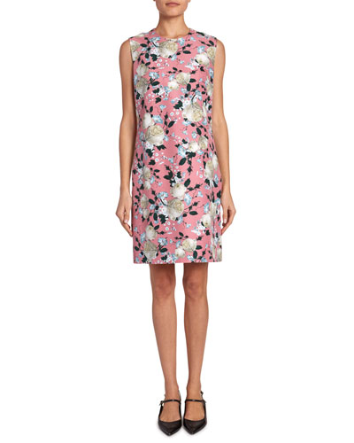 Rivanna Floral Short-Sleeve Dress