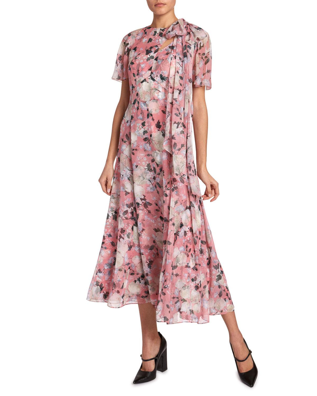 Erdem Dresses KRISTIE FLORAL GEORGETTE DRESS