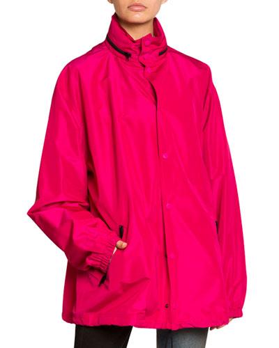 Hooded Wind-Resistant Jacket