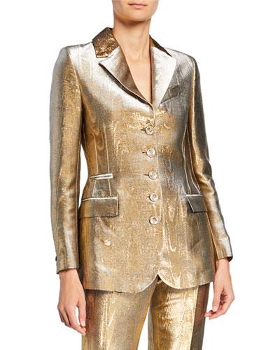 Golden Foiled Jacket