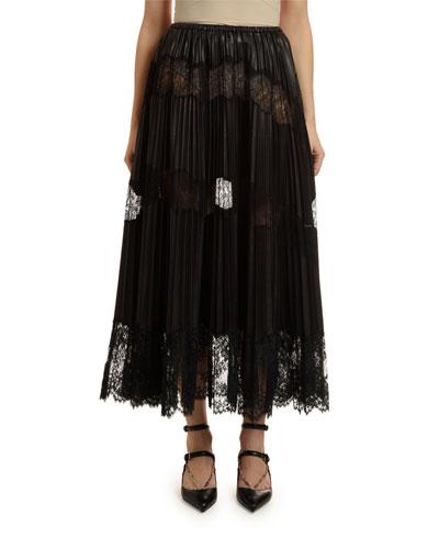 301d5e06d0 Designer Leather Skirt | bergdorfgoodman.com