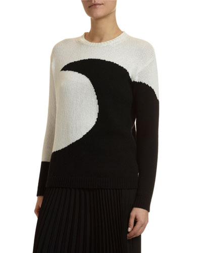 Cashmere Moon Sweater
