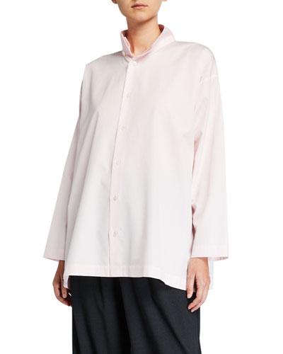 Slim A-Line Two-Collar Shirt