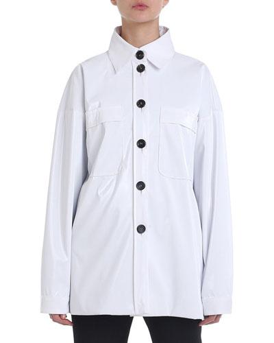 Button-Front Tech Utility Shirt