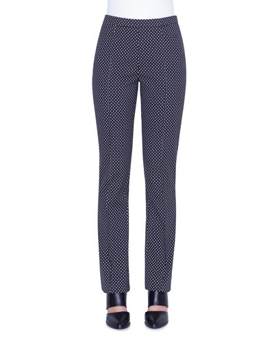 Francoise Diamond Jacquard Pants
