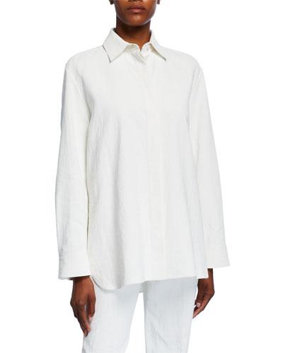 Big Sisea Linen Shirt