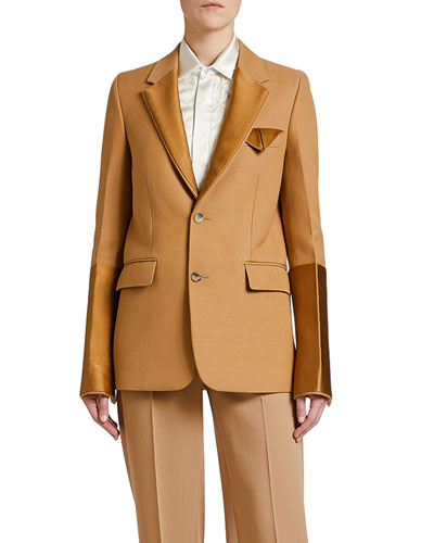 Compact Dry Wool Scuba Jacket