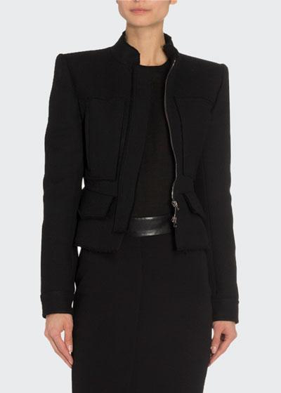 Short Peplum Jacket