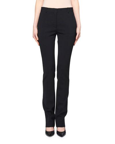 Roosevelt Slim-Leg Wool Pants