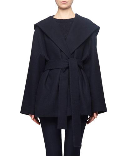 Rayna Hooded Wrap Coat