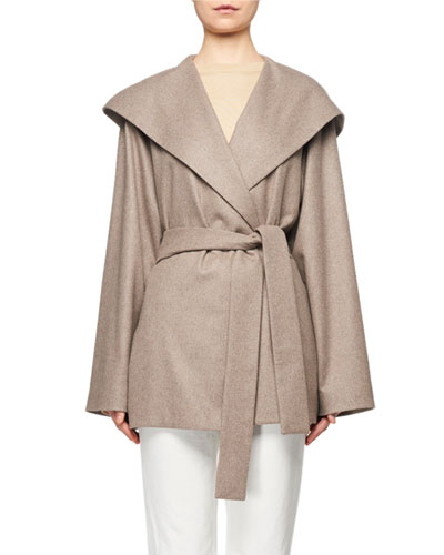 Reyna Hooded Wrap Coat