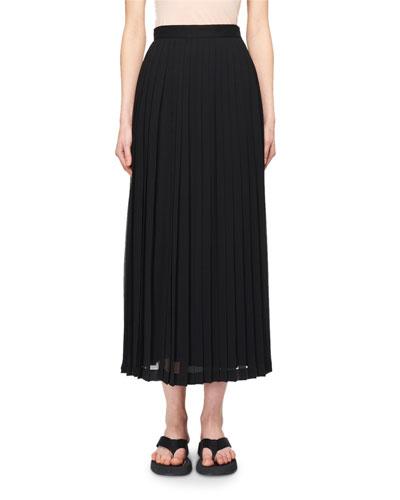 Lawrence Pleated Midi Dress