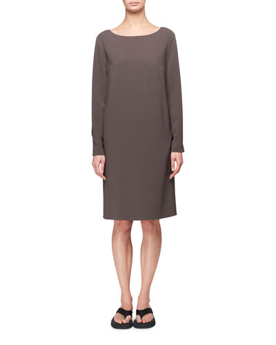 Sarina Long-Sleeve A-Line Dress