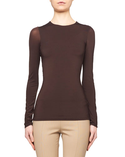 Patri Long-Sleeve Fitted Tee