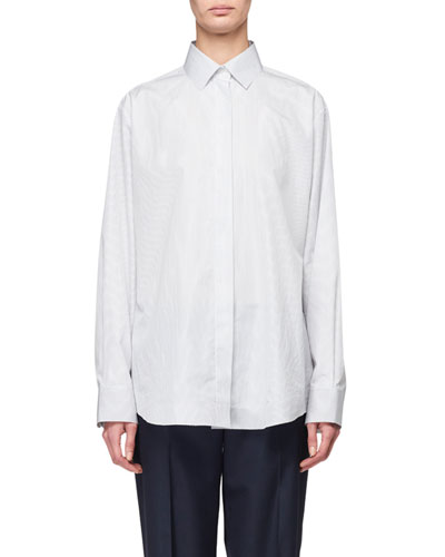 Big Sisea Cotton Poplin Shirt