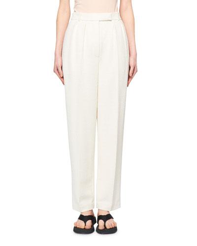 Landeli Single-Pleated Pants