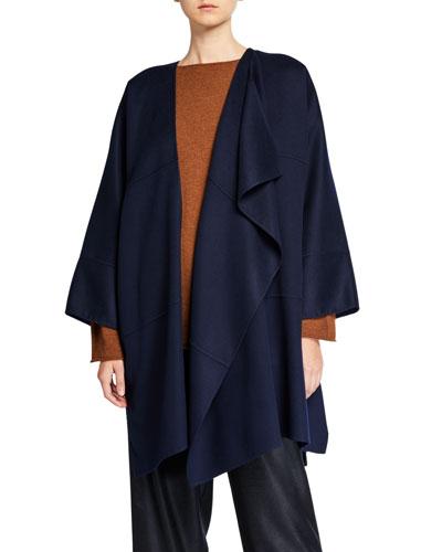 Cashmere Asymmetric Jacket