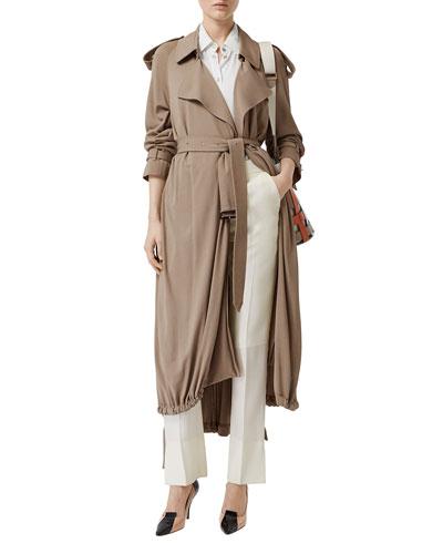 Heavy Draped Wrap Coat