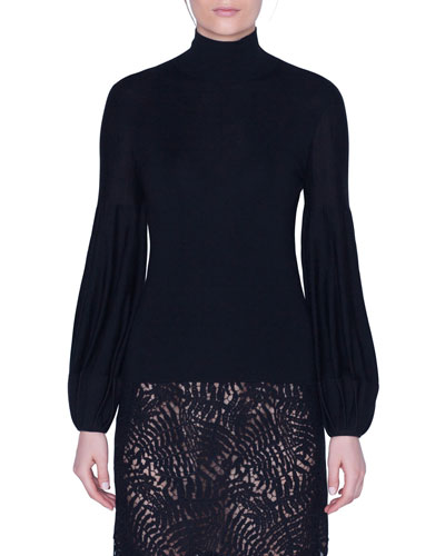 Full-Sleeve Turtleneck Sweater