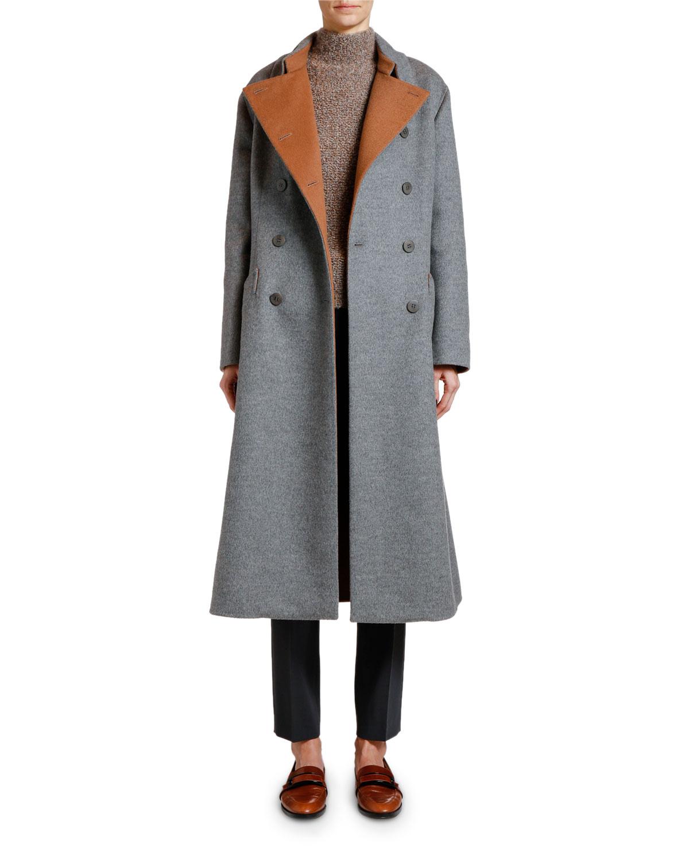 Giorgio Armani Coats DOUBLE-FACE CASHMERE COAT