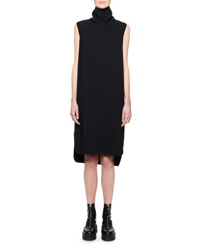 Dorma Funnel-Neck Sleeveless Dress