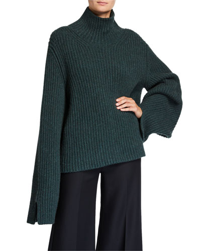 Molly Cashmere Turtleneck Sweater