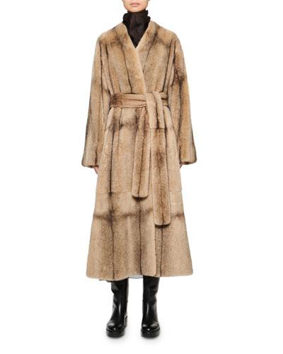 Tanilo Mink Fur Coat