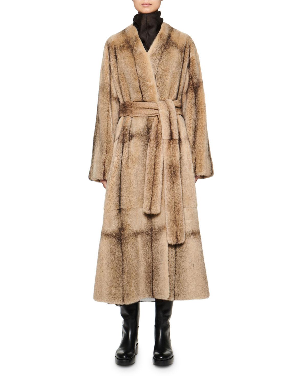The Row Coats TANILO MINK FUR COAT
