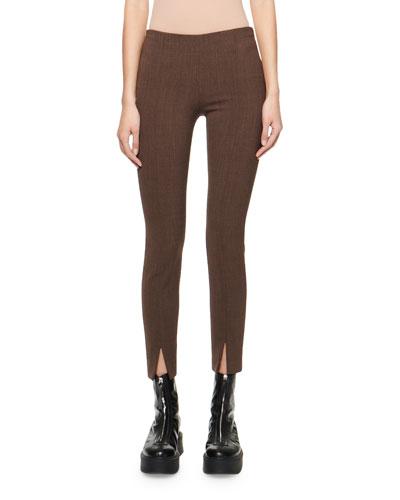 Sorroco Slim Herringbone Pants