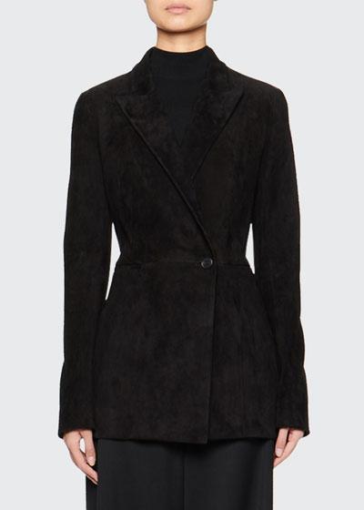 Ciel Suede Blazer Jacket