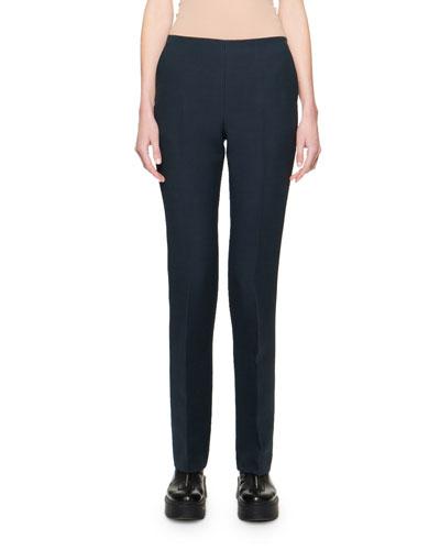 Ladan Wool Silk Pants