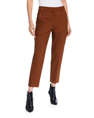 Monili-Pocket Tech-Wool Pants